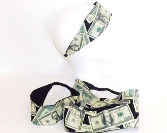 Headband - Money, Money, Money - Fits Kids to Adults