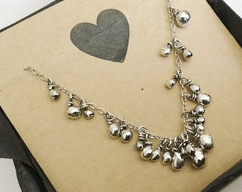 Customized Memory Necklace, made to order only, price depending on amount of drops.