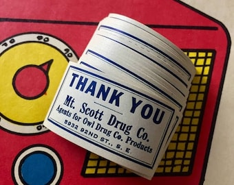 SALE 15pcs OWL DRUGS Stickers Vintage Drug Store Pharmacy Mt. Scott Drug Co