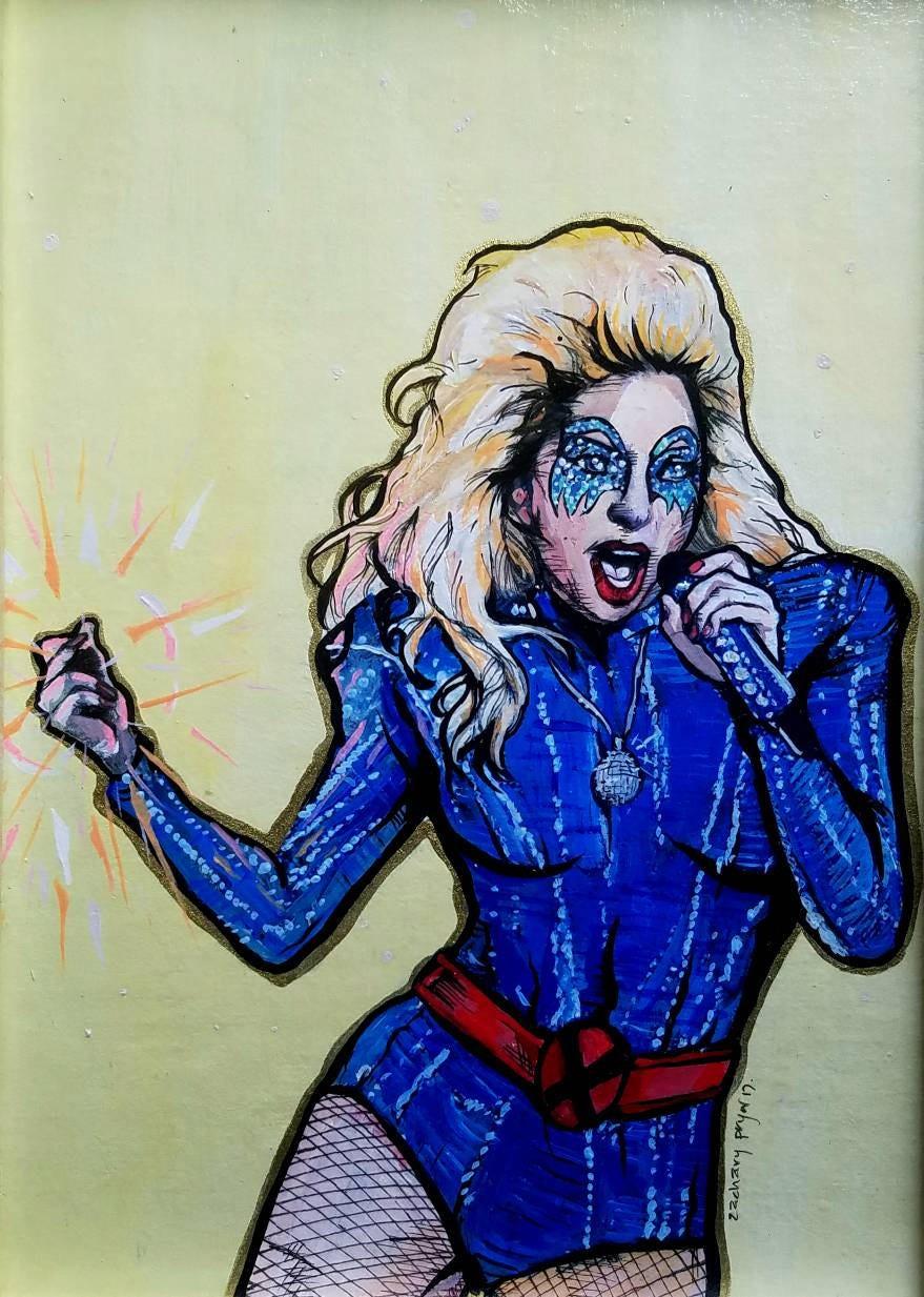 X Men Dazzler Lady Gaga Lady Gaga as Dazzler f...