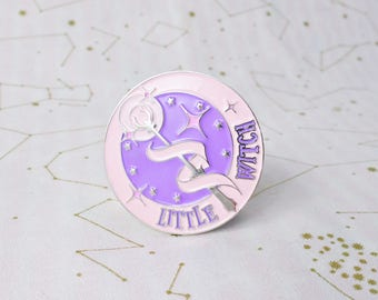 SECONDS SALE - Little Witch Academia Magic Wand Pin - Magical Girl