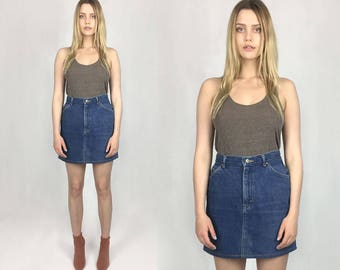 Vintage 70s Lee Denim Skirt