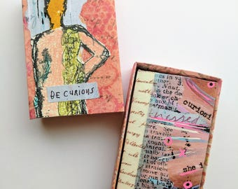 Be Curious - Matchbox Mini Journal