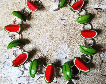 Super Juicy...........WATERMELON Bracelet