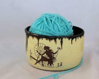 Arachne Ceramic bowl, Gothic