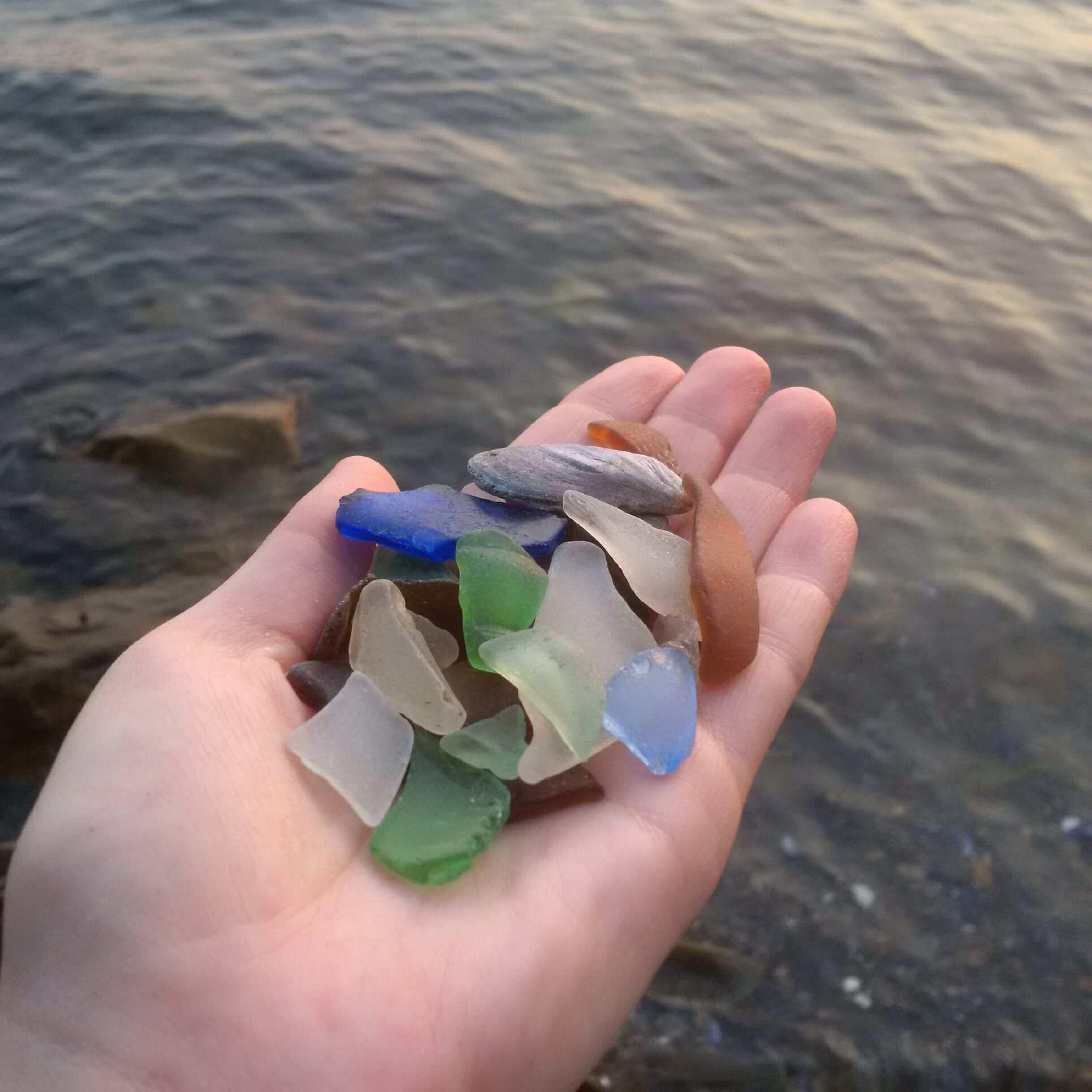 Sea glass collecting in nova scotia