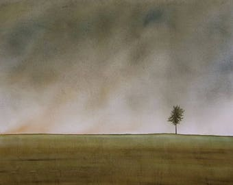 Alone But Not Lonely FINE ART reproduction PRINT
