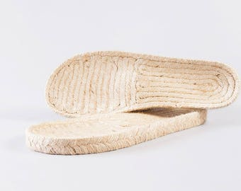 PRESALE OFFER espadrille jute soles - M14 - anatomical bio wide fit - 35 to 43 European size