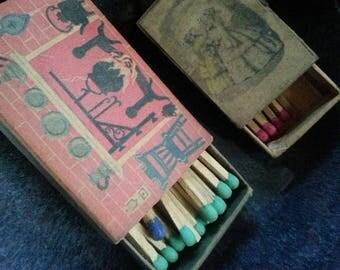 Vintage matchbox matches.  Ohio Matches
