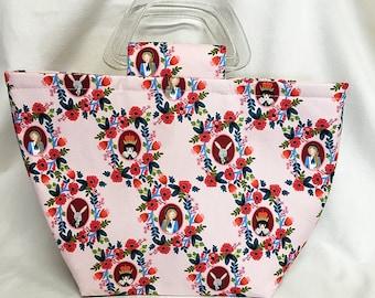 Tote Bag - Alice In Wonderland Pink