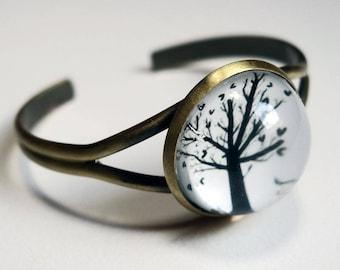 The tree with hearts BG02 bracelet