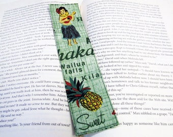 Quilted Bookmarks Hula Dancers