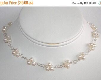 20% OFF Pearl Trio Necklace