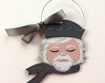 Nutcracker ornament - ballet ornament - personalized ornament - nutcracker ballet - child ornament - ballerina ornament - neutral decor