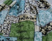 Kitchen Towel with Pot Holder Top - Hope. DREAM, Believe