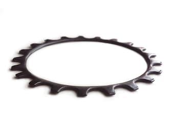 Bike Gear Bracelet - Black Gear Bracelet - Antiqued Gear Bracelet - Rustic Bangle - Bike Gear - Gear Jewelry - Gear Bangle - Andyshouse