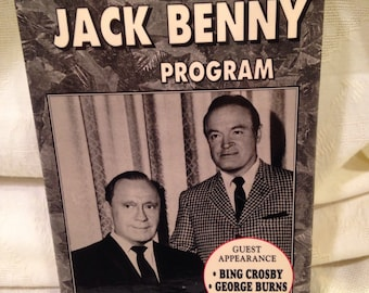 The Jack Benny Program 2 VCR Tapes TV Classics Collection Golden Age of TV Ships Free