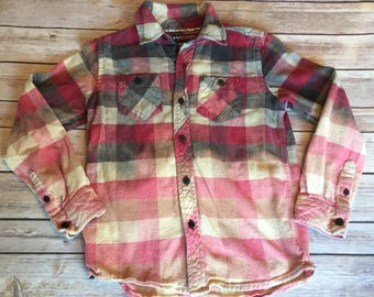 Dip Dyed Boys Flannel