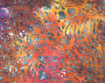 Batik-Animal Print -Batik Fabric-Cotton Fabric-Batik for Quilters-Apparel- Quilters Cotton-Decor Projects-WindyRobinCotton- Choose your cut