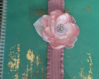 Shabby flower planner band