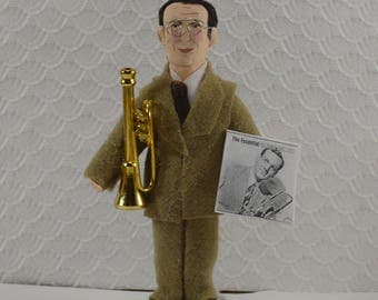Glenn Miller Bandleader Swing Music Collectible Figure 1940s Era