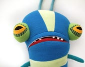 Lancelot the Big Bug Cotton Monster with Pocket Mouth Plush