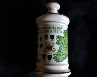 1969 Stitzel Weller Whiskey Decanter Irish Coat of Arms