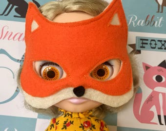 Fox mask for blythe