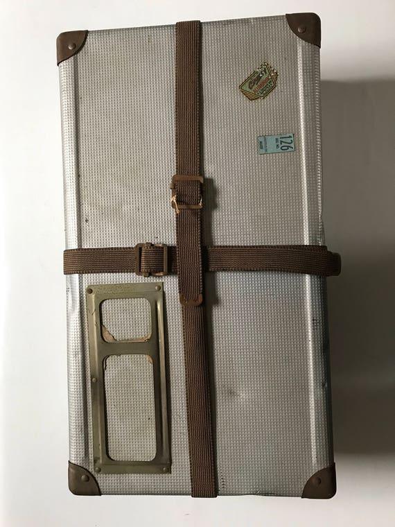 1940s Aluminum Postal Shipping Box