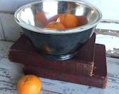 Vintage Bowl Silver Reed & Barton Bowl + Pyrex 2 Quart Lining Jamestown Pattern