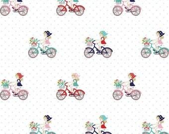 ON SALE Tasha Noel Vintage Market Bike Ride Mint