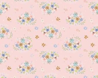 ON SALE Riley Blake Designs Neverland Flower Pink