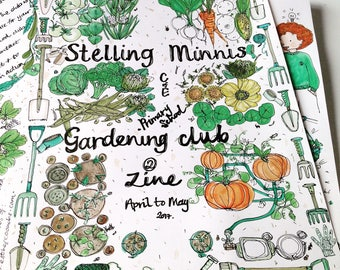 The Stelling minnis primary school gardening club zine issue 2
