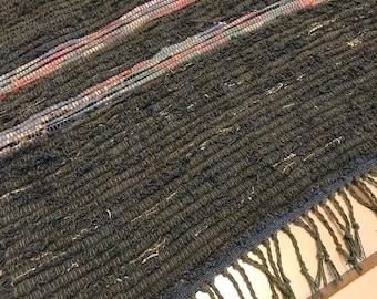 Handwoven Rag Rug by Jeri
