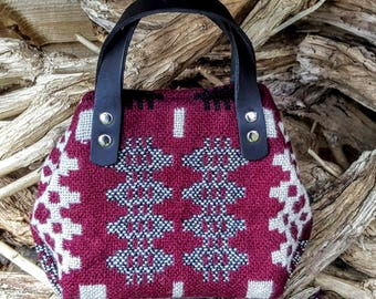 New! Small Welsh tapestry handbag