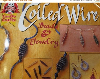 CLEARANCE Coiled Wire Beads and Jewelry Book for Beading with Wire