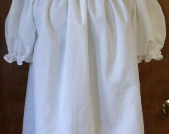 Bridal Pirate Wench Gypsy Renaissance Chemises Short sleeve For Liz C ONLY