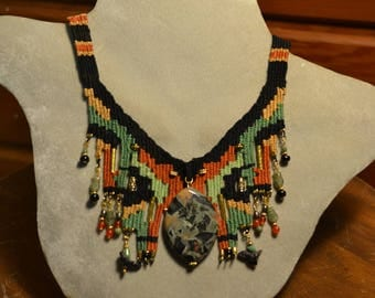 Woven Necklace 858
