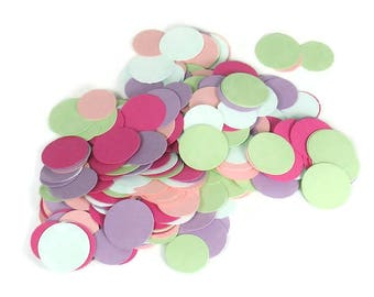 Party Confetti  Dots in  Spring Mix Quantity 300