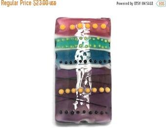 ON SALE 35% OFF New! 11839703 Rio de Janeiro Gloss Kalera Focal Bead - Handmade Glass Lampwork Beads Set