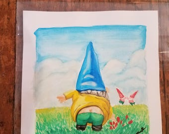 Garden gnome from gnomeo and Juliette