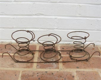 Vintage Bed Springs 3 Vintage Bed Springs 5 Inches Tall