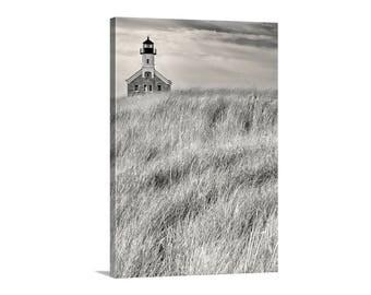 Block Island, Lighthouse Print, Rhode Island, Fine Art Photography, Lighthouse Art, New England Art, Vertical Print, Wall Art, Canvas Print