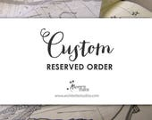 Reserved Order for MG