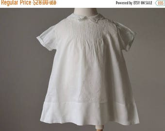 ON SALE 1950s Batiste Heirloom Dress >>> Size 9 months
