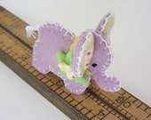 Ellie the Elephant - A Wee Feltie Friend  - Just for You in  Poetic Purple