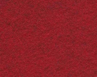Barnyard Red 20/80 Wool Blend Felt 12x18