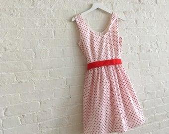 Red Polka ~ a tea dress