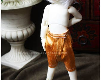 ABJD TG LTF and YoSD gold dupioni silk Dhoti style pants