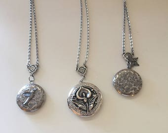 Express Yourself Solid Perfume Lockets, as uniquely different as the wearer!